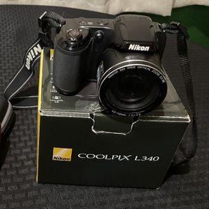 Nikon Coolpix L340 for Sale in Selma, CA