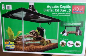 Aquatic Reptile starter kit for Sale in Virginia Beach, VA
