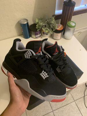 """Jordan 4 """"bred"""" for Sale in Riverside, CA"""