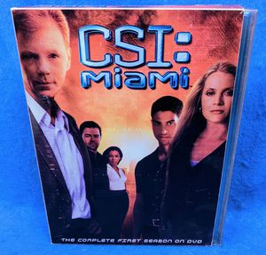 CSI: Miami - The Complete First Season (DVD, 2004, 7-Disc Set) for Sale in Haddon Heights, NJ