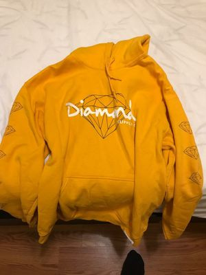 Diamond Supply Co. yellow hoodie for Sale in Cypress, TX
