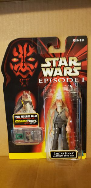 Star Wars action figure JarJar Binks for Sale in Manteca, CA