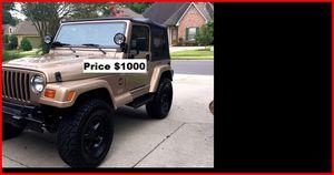 ֆ1OOO Jeep Wrangler for Sale in Garland, TX