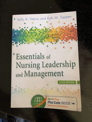Essentials of Nursing Leadership and Management 6th edition for Sale in East Wenatchee, WA
