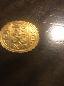 Gold Tone Egyptian Revival Brooch #82 for Sale in Cleveland,  OH