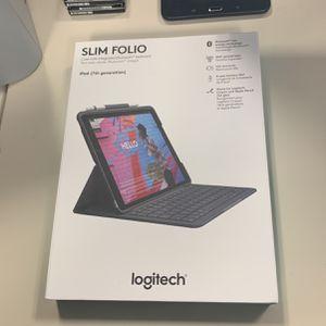 Logitech Slim Folio For iPad 7th generation for Sale in Morrisville, NC