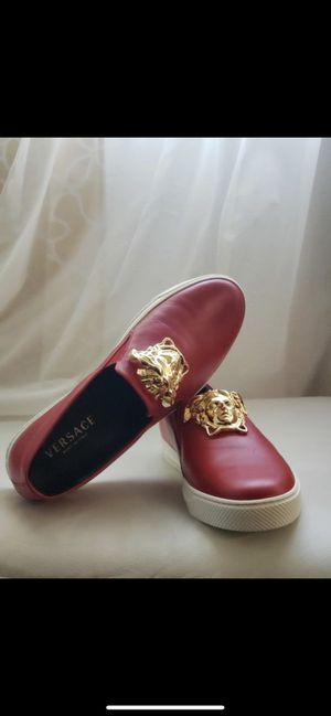 Brand new Versace shoes in box size 11 for Sale in Dallas, TX