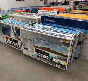 """Tv sale liquidation!!! Brand new!! Open box !! From 24"""" to 75"""" 4K for Sale in Dallas, TX"""