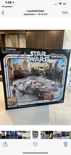 Star Wars Vintage Collection Millennium Falcon Smugglers Run New sealed for Sale in Loxahatchee, FL