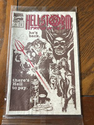 Hellstorm comic, Prince of lies for Sale in McDonald, PA