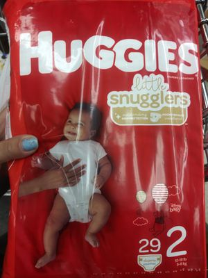 Huggies diapers 1-6 for sizes for Sale in Brooklyn Center, MN