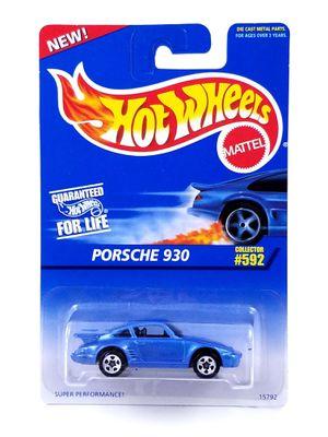 Hot Wheels Porsche 930 / 1996 / #592 / Blue / 5 Spoke Wheels / 5SP / Brand New for Sale in Bakersfield, CA