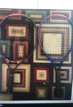 1 tennis rackets (Wilson& prokennex) for Sale in Los Angeles, CA