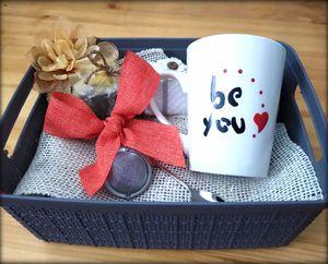 Freshly imported tea from Baghdad, tea strainer, hand-painted custom mug. for Sale in Salt Lake City, UT
