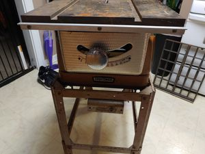 Vintage Craftsman table saw in working condition for Sale in Brooklyn, OH