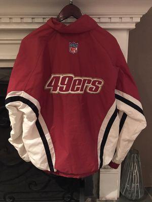 Vintage Pro Line 49ers Jacket for Sale in Redwood City, CA