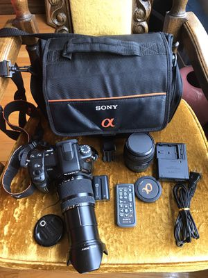SONY A700 DSLR Camera and more for Sale in West Collingswood Heights, NJ