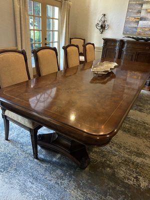 Dining Table + 10 chairs for Sale in Dallas, TX