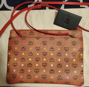 MCM Multi-colored Crossbody Leather Bag for Sale in Valley View, OH
