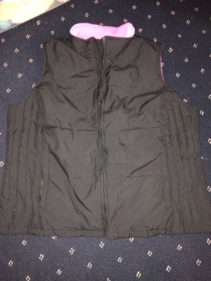 Black and hot pink vest for Sale in Middletown, PA