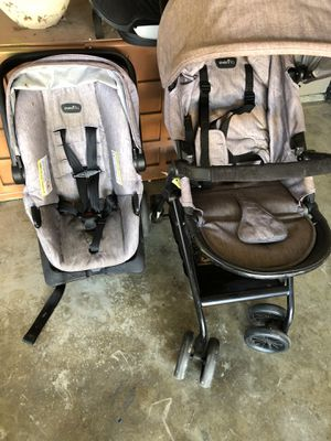 Evenflow Car seat, Base, and matching Stoller for Sale in Lodi, CA