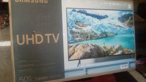 Samsung 50 inch smart 4k tv 7 series New in the open box for Sale in Phoenix, AZ