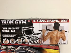 Iron Gym Total Body Workout Bar Pull-Up Exercise Home Gym for Sale in Menlo Park, CA
