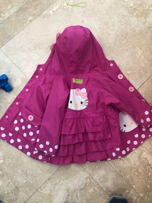 Hello Kitty Rain jacket 2t for Sale in Plantation, FL
