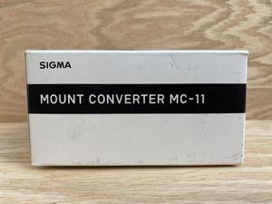 Sigma Mount Converter MC-11 For Use With Canon SGV Lenses for Sony E for Sale in Miami, FL