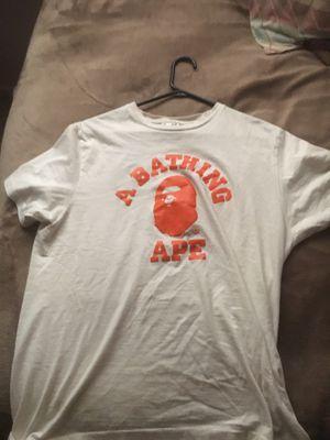 bathing ape/ bape men's shirt for Sale in El Paso, TX