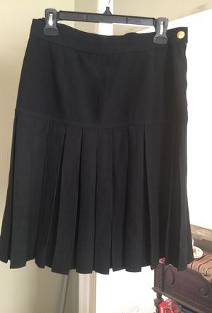 Black Pleaded Chanel Skirt for Sale in Washington, DC