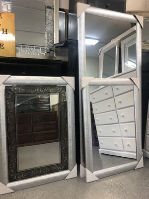 💥$79 SMALL 💥$150 BIG MIRROR 💥NEW READY FOR PICK UP ONLY 💥HABLAMOS ESPAÑOL 💥 for Sale in Los Angeles, CA