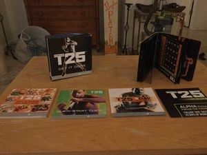 T25 beachbody complete program for Sale in New Port Richey, FL