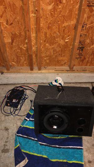 Mtx 10 inch subwoofer 🔊 1000 mtx watt amp for Sale in Morrisville, NC