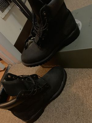 Black TimberLand Boots for Sale in Philadelphia, PA