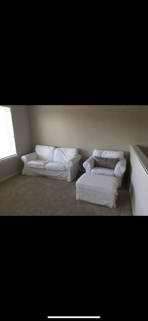 Couch, chair and ottoman for Sale in Maple Valley, WA