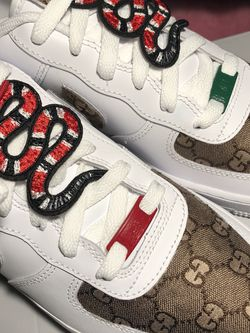 Gucci Custom Air Forces !! for Sale in Long Beach,  CA