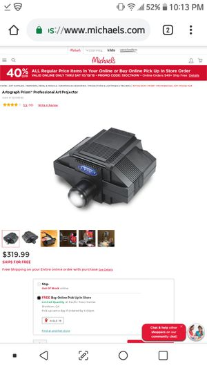 Prismart projector for Sale in Woodland, CA
