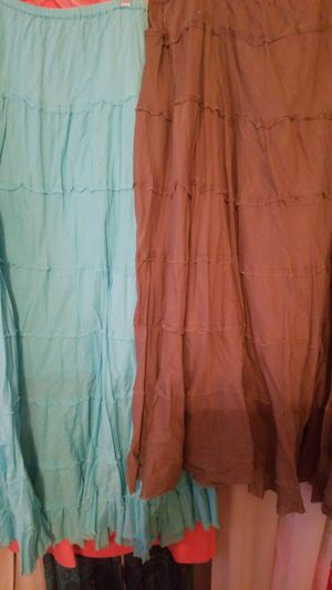 Plus size peasant skirts for Sale in Greenville, NC