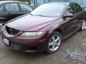 PARTS ONLY ---PARTES SOLAMENTE ---2008 MAZDA 6 for Sale in Mesquite, TX