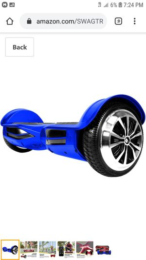 NEW Hoverboard – Bluetooth Speaker with backpack for Sale in Phoenix, AZ