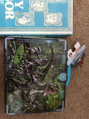New puzzle in a box of 100 pieces and board game for children for Sale in Braintree, MA