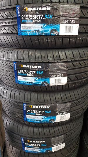 215 55 17 New Tires for Sale in Tucson, AZ