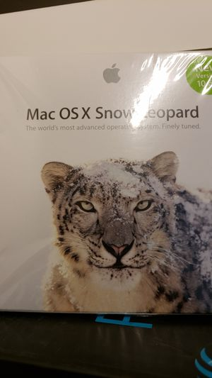 Mac OSX snow leopard unopened disc version 10.6.3 for Sale in Boston, MA