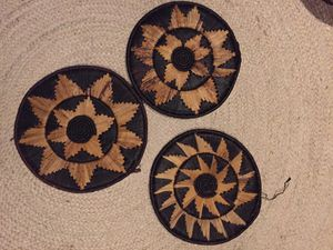 East African trivets—wall decor—from Uganda! for Sale in El Cajon, CA