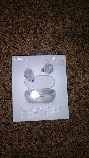 Merkury innovations element wireless earbuds for Sale in Salem, OR