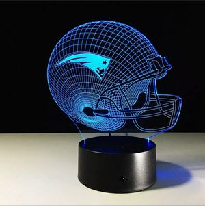 New England Patriots NFL Night Light Lamp for Sale in Evesham Township, NJ