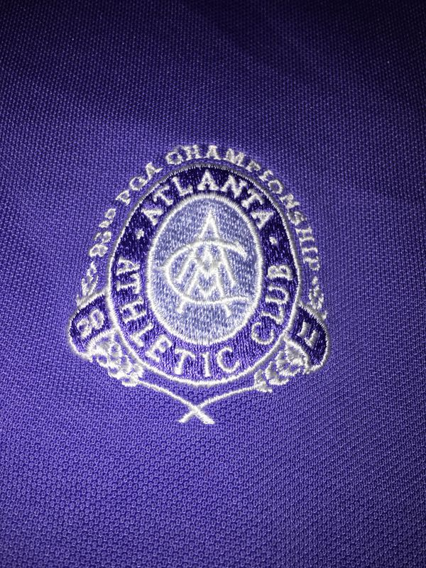Ralph Lauren 'RLX' Golf Shirt, 2011 PGA Championship, Atlanta Athletic Club, Johns Creek, GA, Large, $10