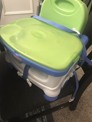 Fisher Price High chair booster seat for Sale in Grand Prairie, TX