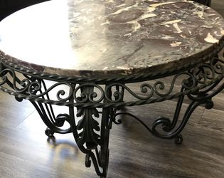 Antique French Round Marble Top Table for Sale in Plano,  TX